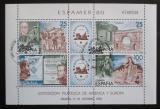 Poštovní známky Španělsko 1980 Výstava ESPAMER Mi# Block 21