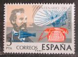 Poštovní známka Španělsko 1976 Telefon, 100. výročí Mi# 2204