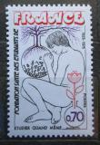 Poštovní známka Francie 1975 Péče o nemocné studenty Mi# 1927