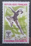 Poštovní známka Francie 1968 ZOH Grenoble, krasobruslení Mi# 1613