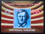 Poštovní známka Jemen 1971 LOH Mnichov, Richard Wagner Mi# Block 155 Kat 12€