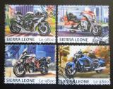Poštovní známky Sierra Leone 2017 Motocykly Mi# 8665-68 Kat 11€