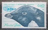Poštovní známka Francouzská Antarktida 1980 Tučňák kroužkový Mi# 150