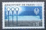 Poštovní známka Francie 1961 Otevření budovy letiště v Paříži Mi# 1337