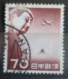 Poštovní známka Japonsko 1953 Letadlo a Budha Mi# 615