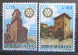 Poštovní známky San Marino 1970 Historická architektura, Rotary Intl. Mi# 957-58