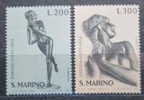 Poštovní známky San Marino 1974 Evropa CEPT, sochy Mi# 1067-68