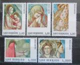 Poštovní známky San Marino 1975 Fresky, Svatý rok Mi# 1090-94