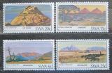Poštovní známky Namíbie, SWA 1982 Hory Mi# 524-27