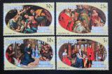 Poštovní známky Penrhyn 1974 Vánoce, umění Mi# 58-61