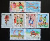 Poštovní známky Zair 1985 Sport, OLYMPHILEX Mi# 889-96