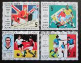 Poštovní známky Čad 1970 MS ve fotbale Mi# 309-12