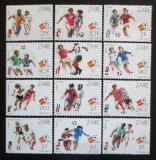 Poštovní známky Kongo Dem. , Zair 1982 MS ve fotbale Mi# 759-70 Kat 13€