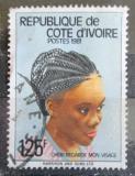 Poštovní známka Pobřeží Slonoviny 1981 Tradiční účes Mi# 716