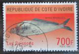 Poštovní známka Pobřeží Slonoviny 1996 Ryba Mi# 1156