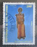 Poštovní známka Pobřeží Slonoviny 1998 Tradiční oděv Mi# 1200