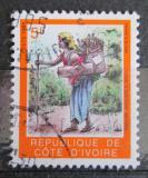Poštovní známka Pobřeží Slonoviny 1994 Žena s košem Mi# 1124