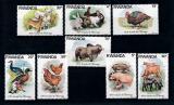 Poštovní známky Rwanda 1978 Domácí zvířata Mi# 966-73