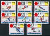 Poštovní známky Rwanda 1972 ZOH Sapporo Mi# 479-86