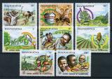 Poštovní známky Rwanda 1982 Světový den potravin Mi# 1159-66