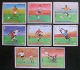 Poštovní známky Rovníková Guinea 1977 MS ve fotbale neperf. Mi# 1153-60 B