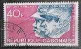 Poštovní známka Gabon 1974 Konference v Brazzaville, 30. výročí Mi# 529