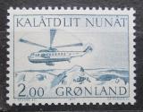 Poštovní známka Grónsko 1977 Helikoptéra Mi# 100