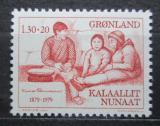 Poštovní známka Grónsko 1979 Knud Rasmussen, polární badatel Mi# 116