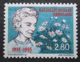 Poštovní známka Grónsko 1985 Královna Ingrid Dánská Mi# 159