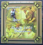 Poštovní známka Mosambik 2001 LOH Sydney, tenis Mi# Block 82 Kat 10€