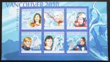 Poštovní známky Komory 2010 ZOH Vancouver Mi# 2900-05 Kat 10€