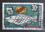 Poštovní známka Austrálie 1972 Ryba Mi# 493