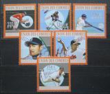 Poštovní známky Komory 2010 Baseball Mi# 2782-87 Kat 10€
