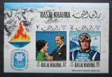Poštovní známky Rás al-Chajma 1969 ZOH Grenoble neperf. Mi# Block 75 B