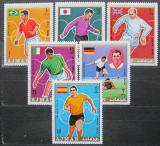 Poštovní známky Adžmán 1970 MS ve fotbale Mi# 525-30