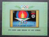 Poštovní známka Umm al-Kuvajn 1971 LOH Mnichov Mi# Block 33