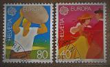 Poštovní známky Švýcarsko 1981 Evropa CEPT Mi# 1197-98