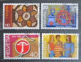 Poštovní známky Švýcarsko 1981 Výročí a události Mi# 1206-09
