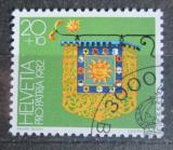 Poštovní známka Švýcarsko 1982 Hotelový štít Mi# 1223