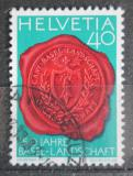 Poštovní známka Švýcarsko 1983 Pečeť Bazileje Mi# 1255