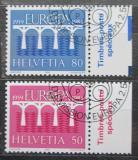 Poštovní známky Švýcarsko 1984 Evropa CEPT Mi# 1270-71