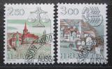 Poštovní známky Švýcarsko 1985 Znamení zvěrokruhu Mi# 1288-89