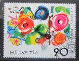 Poštovní známka Švýcarsko 1988 Metamecanique, Jean Tinguely Mi# 1380