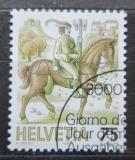 Poštovní známka Švýcarsko 1989 Poštovní služby Mi# 1390