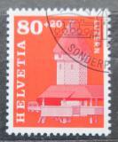 Poštovní známka Švýcarsko 1993 Most v Luzernu Mi# 1511