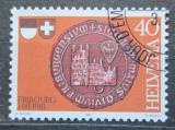 Poštovní známka Švýcarsko 1981 Pečeť Freiburgu Mi# 1203