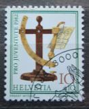 Poštovní známka Švýcarsko 1982 Stará váha na dopisy Mi# 1236