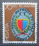 Poštovní známka Švýcarsko 1981 Poštovní znak Mi# 1201
