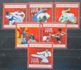 Poštovní známky Komory 2010 Asijská bojová umění Mi# 2747-52 Kat 10€