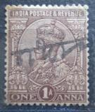 Poštovní známka Indie 1922 Král Jiří V. Mi# 96